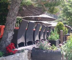 La terraza junto al mar de La Barraca