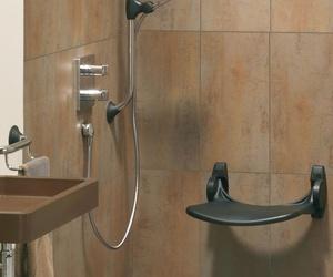Asientos abatibles de ducha
