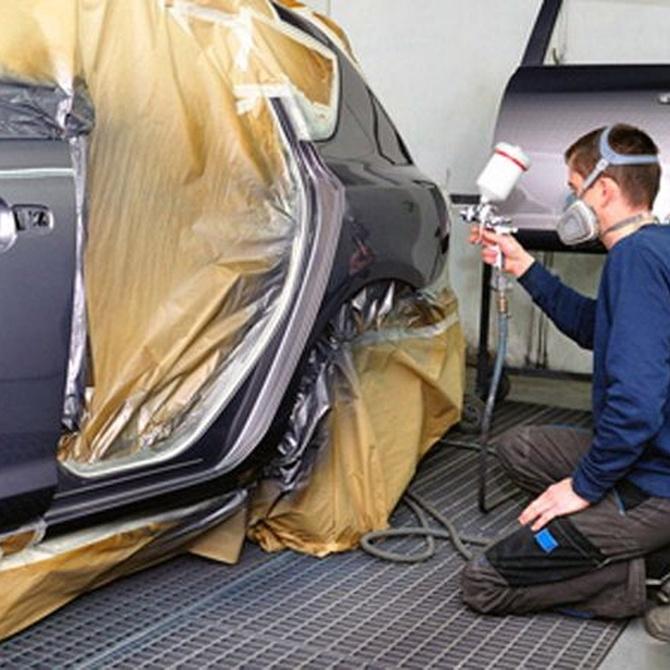Problemas habituales en la pintura del coche