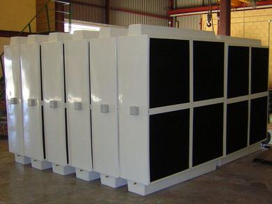 La Refrigeración Evaporativa de Plástico de Control y Ventilación, basada en el Polietileno de Alta Densidad, la MEJOR