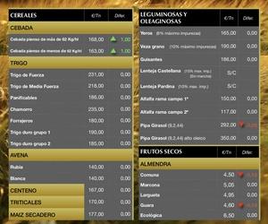 Lonja de Albacete 11.10.18 Cereales & Almendra