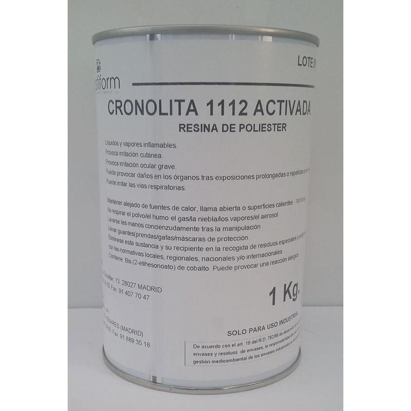 Resina parafinada Cronolita 1112 de PLASTIFORM en tienda de pinturas en ciudad lineal.