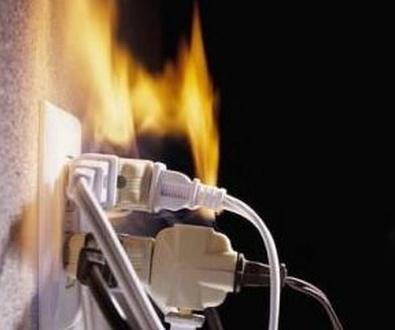 Incendios por causas eléctricas.