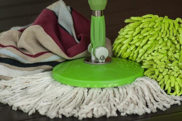 Limpieza de pisos