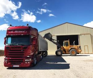 Transporte de cereales Aragón