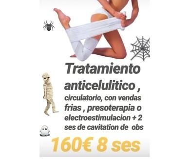 Especial Halloween - Tratamiento anticelulítico