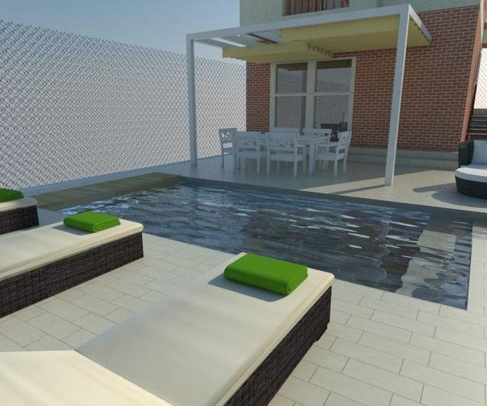 Diseño de Jardín 3D