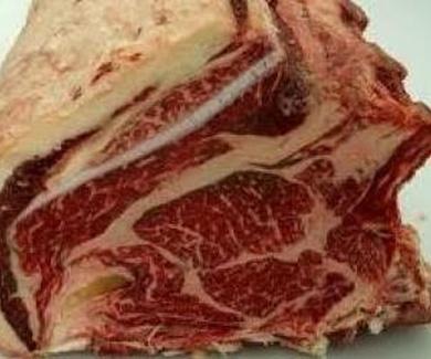 Carne de vaca gallega reposada
