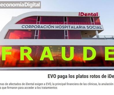 Afectados de iDental exigen a EVO, la anulación de los créditos por tratamientos fallidos.