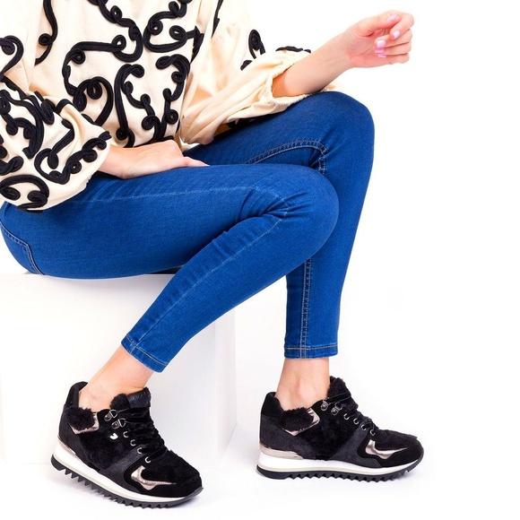 Sneakers negras