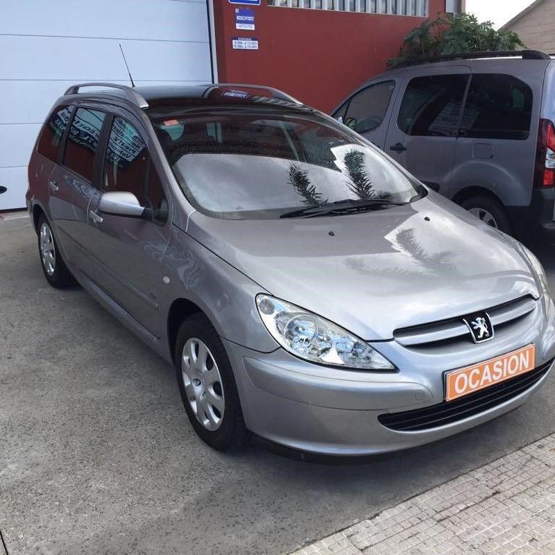 Peugeot 307 2.0Hdi 90Cv Plazas 6+1:  de Ocasión A Lagoa