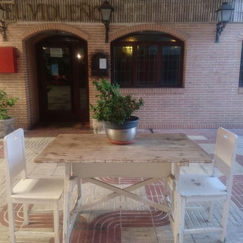 NUEVOS MENÚS DEL DÍA PARA RECOGER O TOMAR EN EL RESTAURANTE.: Carta de Restaurante El Vidueño
