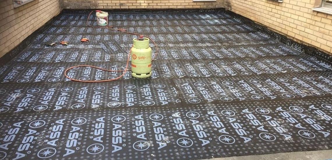 Impermeabilización de patios y terrazas en Oviedo