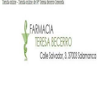 Fórmulas magistrales: Productos y Servicios  de Mª Teresa Becerro Cereceda