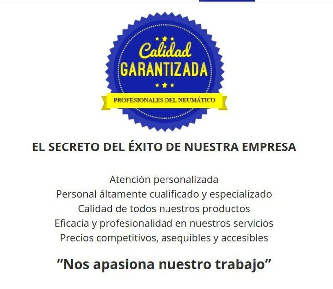 Otros servicios: Catálogo de Pneumàtics Romero