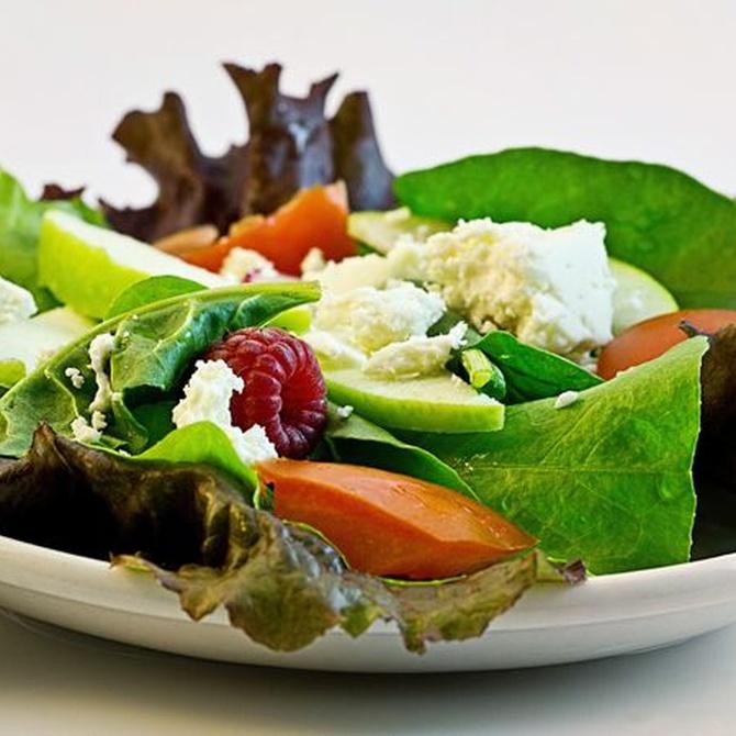 Cómo preparar ricas y saludables ensaladas