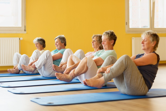 Pilates Seniors: Servicios de Pilates By Mauge