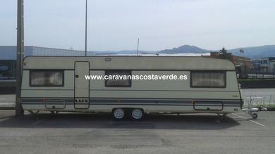 Caravana Doble Eje VENDIDA!!