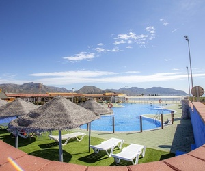 Camping familiar con piscinas en Murcia