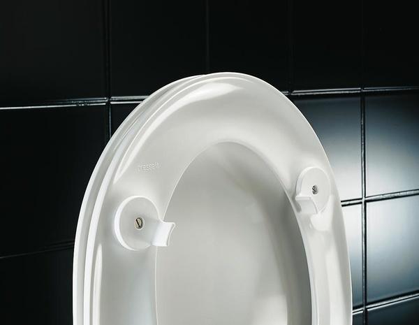 Asiento de WC con tapa muy cómodo DANIA