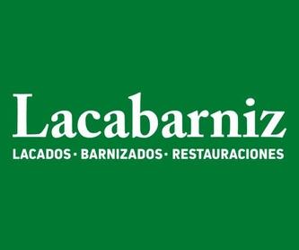 Barnizado de muebles: Catálogo de Lacabarniz