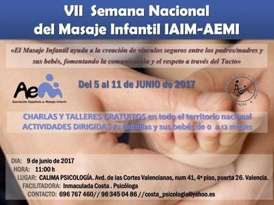 TALLER DE MASAJE INFANTIL GRATUITO
