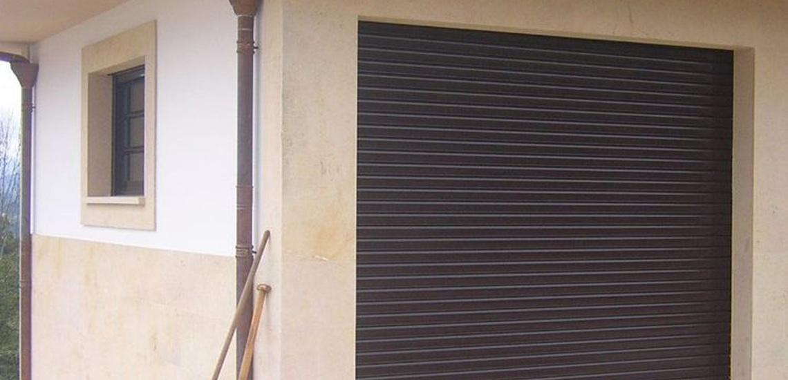 Instalación de portones de garaje en Asturias