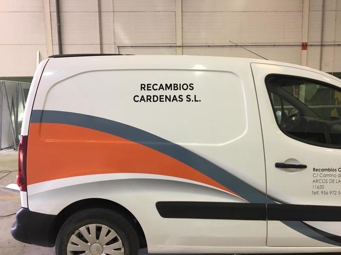 Rotulación de vehículos: Servicios de Rótulos Sehio
