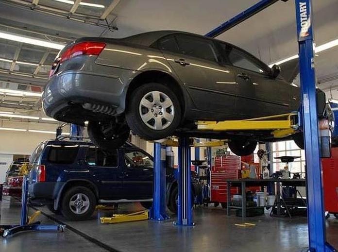 Reparación coche