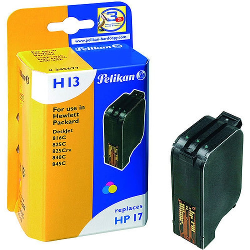 Cartucho PELIKAN para HP17 - C6625A
