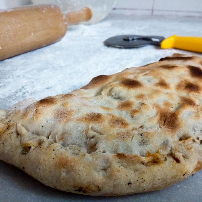 El origen de la pizza calzone