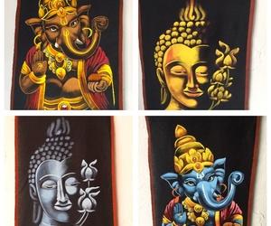 Pergaminos pintados a mano, recién llegados de India