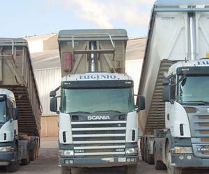 Flota de camiones de nuestra empresa de transporte