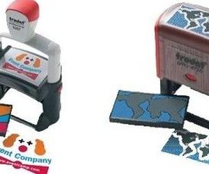 Venta de sellos automáticos multicolor en Cádiz