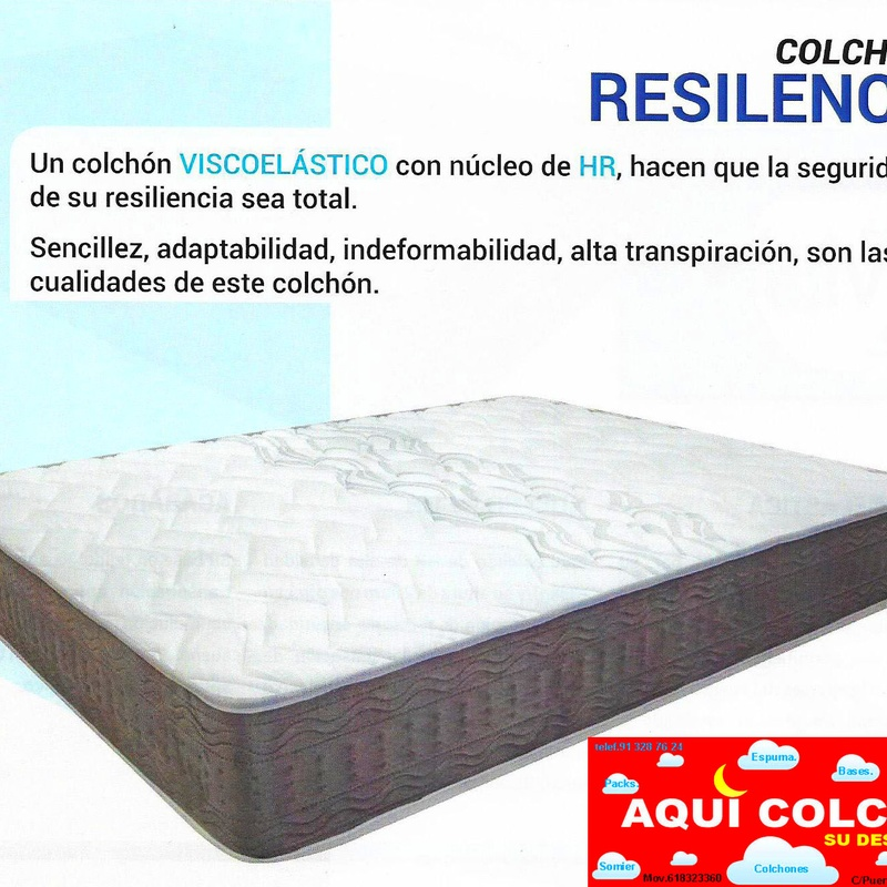 COLCHON RESILENCE VITA