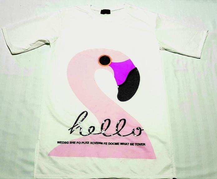Camiseta flamingo blanca: Productos de Picnic Moda Urban