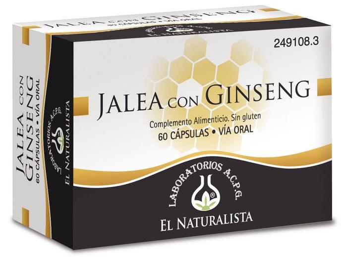 Jalea Real con Ginseng y Magnesio El Naturalista: Productos de Parafarmacia Centro