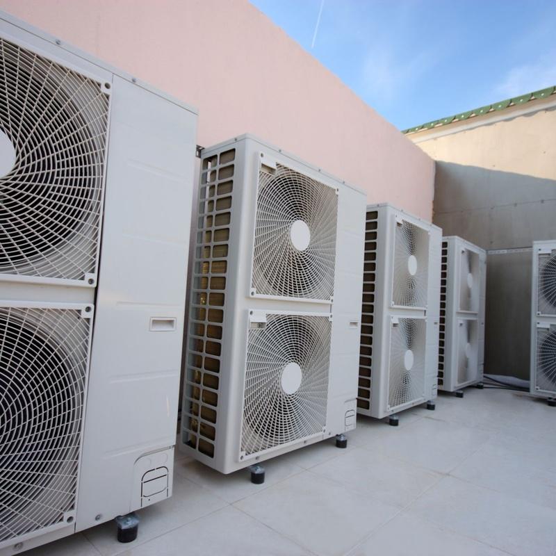 Aire acondicionado y sistemas de ventilación: Servicios de Boadilla Multiservicios