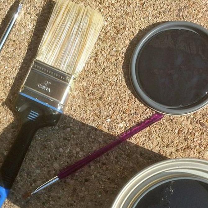 Pintar nuestros viejos muebles con lacas