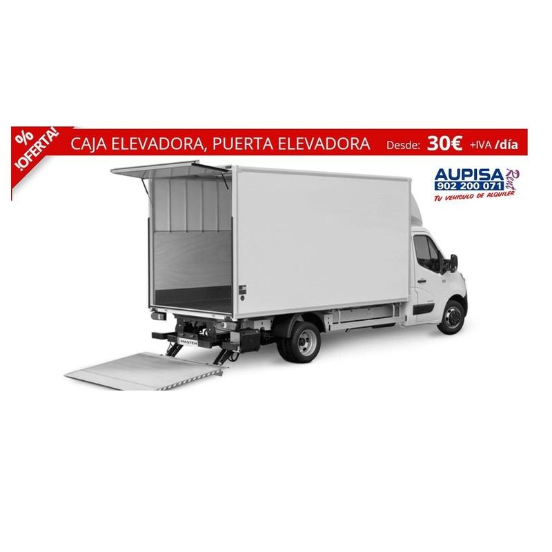 Caja elevadora, puerta elevadora: Vehículos de Ocasión of AUPISA Rent | Tu vehículo de alquiler