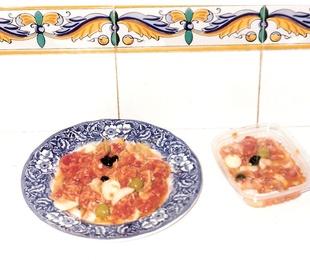 9- Ensalada Murciana(de tomate)