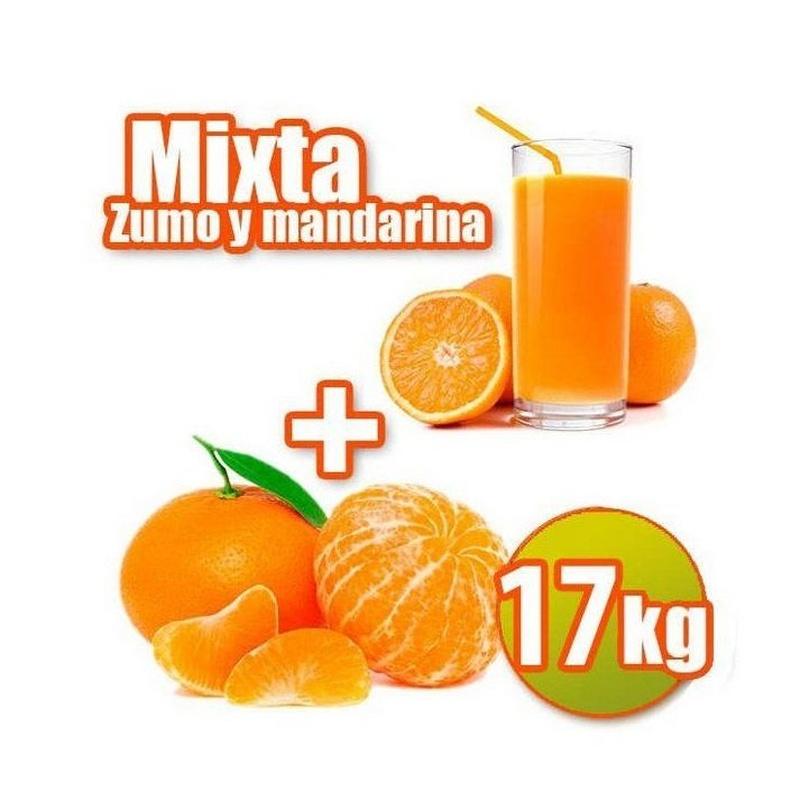 Mixta de zumo y mandarina 17 kg: Productos de Naranjas Julián