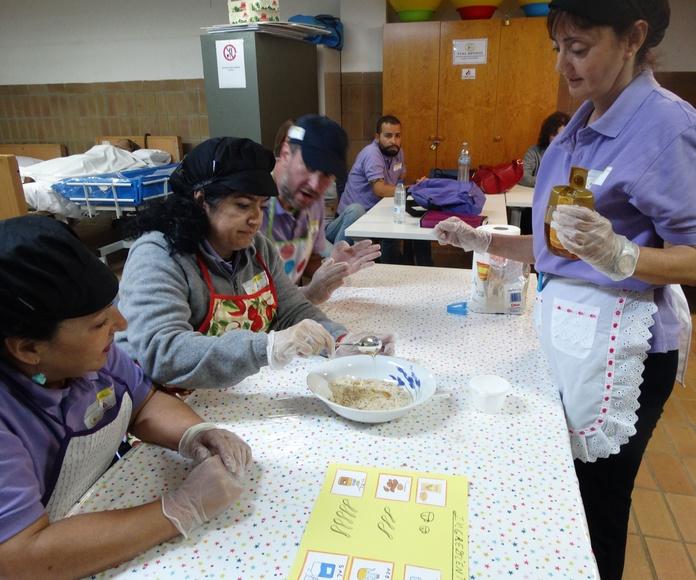 Taller de Cocina Canaria.: Proyectos y Servicios de Asociación Domitila