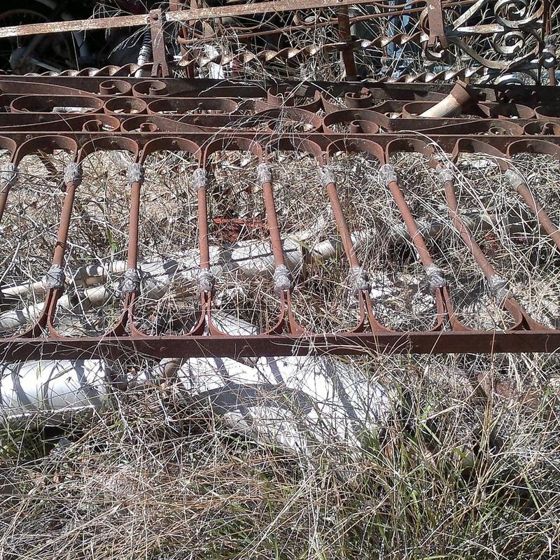 REJAS Y BALCONES EN CHATARRAS CLEMENTE DE ALBACETE