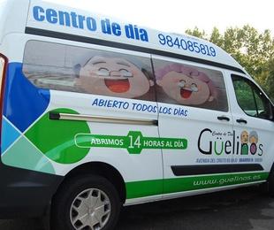 Rotulacion furgoneta ford Transit Custom
