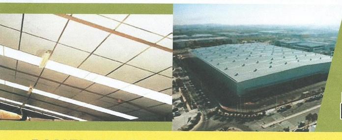 Panel Dinfoc. Techos termoacústicos