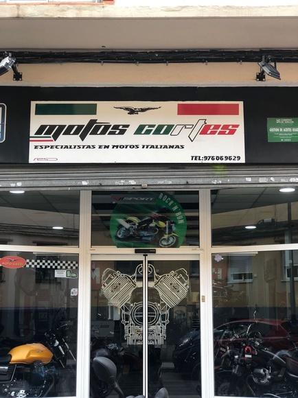 Restauración de motos Guzzi Zaragoza | Motos Cortés