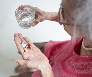 Los problemas del anciano con la medicación