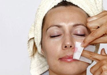 Higiene facial con extracción