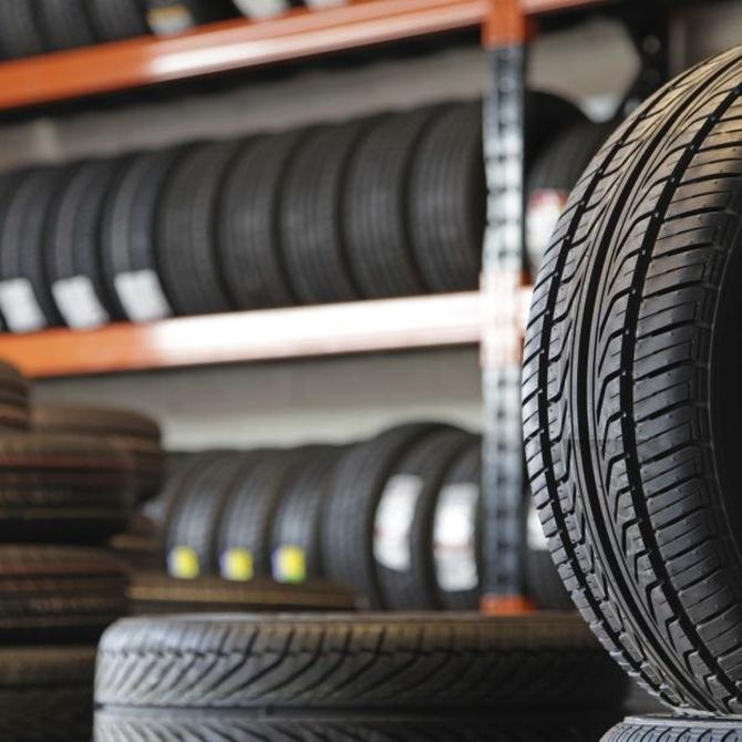 Tipos de neumáticos para el coche
